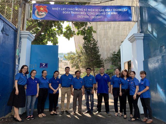Chi đoàn cơ sở Xí nghiệp Truyền dẫn Nước sạch hưởng ứng tháng Thanh niên năm 2021 và kỷ niệm 90 năm ngày thành lập Đoàn Thanh niên Cộng sản Hồ Chí Minh (26/3/1931 – 26/3/2021)
